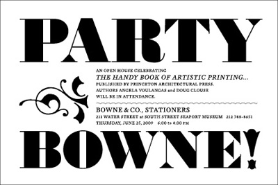 Party Bowne!