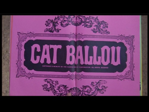 Cat Ballou title screen