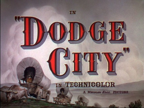 Dodge City title screen