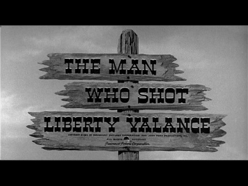 Man Who Shot Liberty Valance title screen