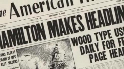 """Making Headlines"" documentary: Newspaper headlines"