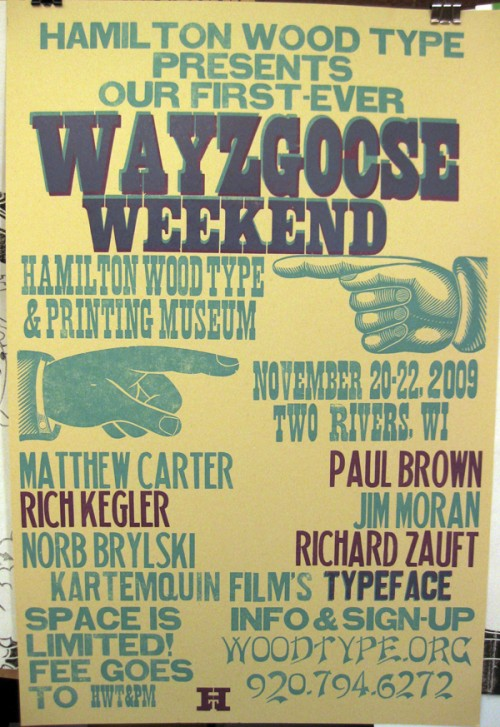 Hamilton Wayzgoose Weekend poster by Celene Aubry on Flickr