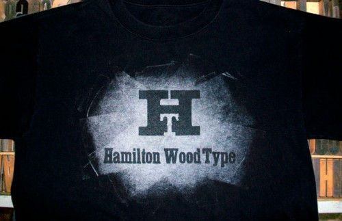 Hamilton Wood Type &amp; Printing Museum t-shirt